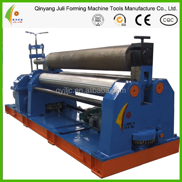 W11-25*2000 plate rolling machine , 3 roller plate bending machine, steel plate rolling machine