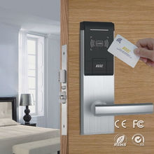electronic hotel key card door RF system