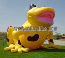 giant 6mH inflatable animal frog for sale