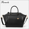 2016 Guangzhou wholesale fashion EUROPE style women genuine leather hand bag ladies black bags handbag women 2016