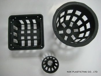 plastic pot and basket for orchid