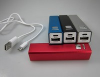 18650 cell, Aluminum case, smart universal power bank for mobile phone