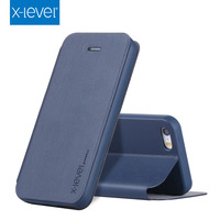 X-Level Luxury tpu pu design mobile phone case for iphone5 case