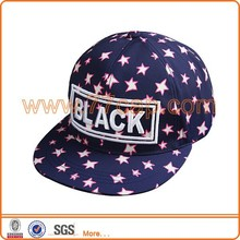 3d logo printed snapback cap commonly used accessories
