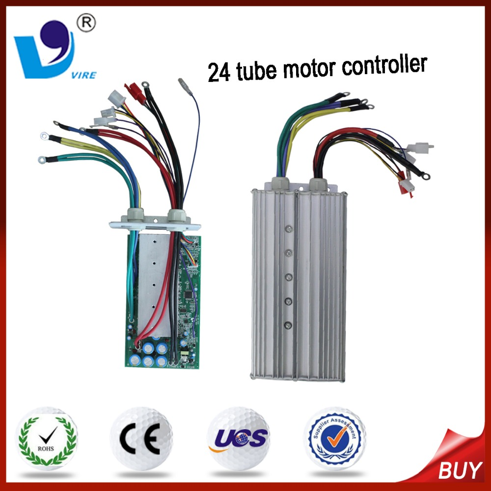 dc mobility scooter motor controller 24 tube 48V/50A