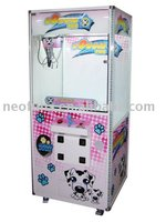 2014 hotest sale catch toy machine /game machine crane machine/ kids toys vending machine