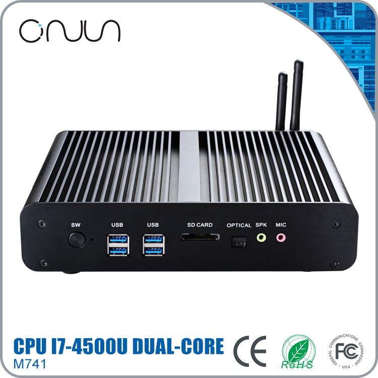 China computer import i7 5500u oem ultra micro pc