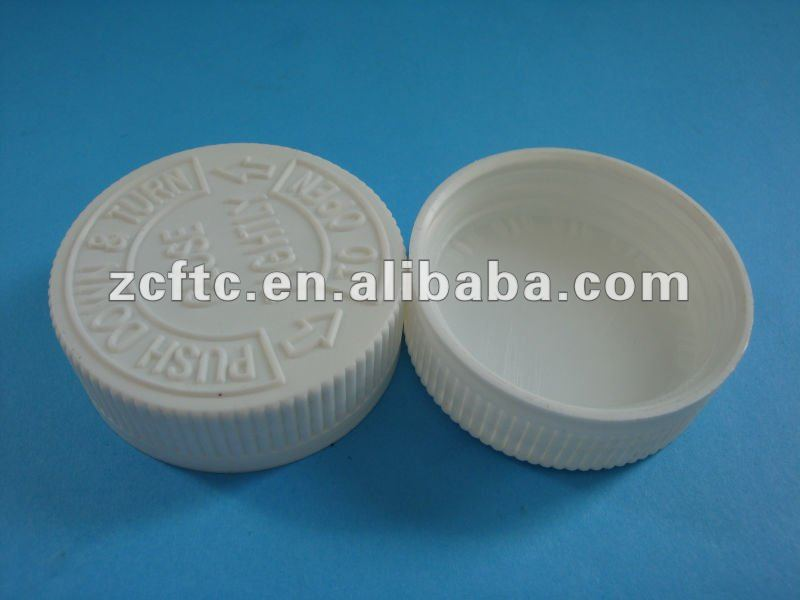 Plastic cap Child-proof closure 28mm 30mm, 32mm, 38mm