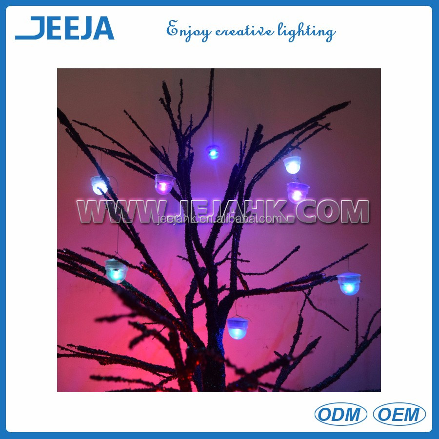 Decorative Outdoor Fencing Mini Led Mushroom Tree Light For Christmas Decoration