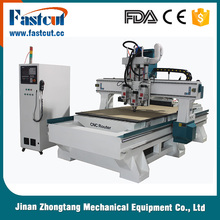 high quality pneumatic tool changer cnc wood router/3D wood cutting machine for Panel furniture