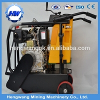 Walk behind gasoline honda electric asphalt floor road used cutting saw machine concrete cutter