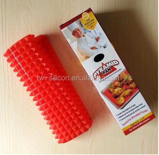 Promotional non-stick silicone baking mat with private label