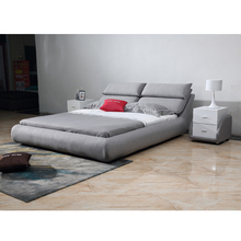 Hot sell in European countries fabric design modern upholstered beds on sale