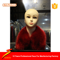 STABILE top quality luxury faux fur collar