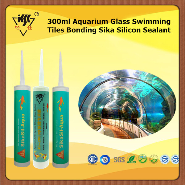 300ml Aquarium Glass Swimming Tiles Bonding Sika Silicone Sealant