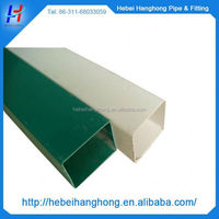 Trade Assurance Manufacturer 3mm thickness rectangular pvc pipe