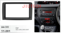 11-281 1 Din Car CD Stereo Radio Surround Fascia for Fiat Idea (350) 2003-2007 Car Facia Panel Car Radio Stereo fascia