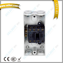 CHINA TOP10 IP56 4 Poles 63A 55A 440V Electrical Waterproof Isolating Switch