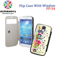 Sublimation Phone Cases Blanks | Full Size Printed Leather Phone Case for Samsung Galaxy S4