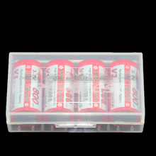 Avoid 18650 /18350 short cuicirt plastic case 18650 holding plastic case 18650 3.7V battery