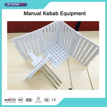 Manual Meat Mini Kebab Equipment For BBQ