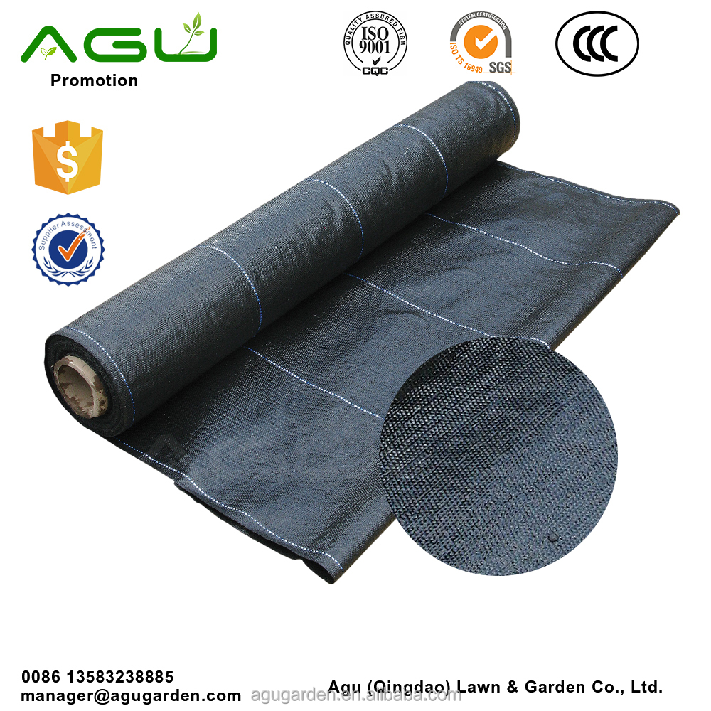 UV Treated Agricultural Ground Cover Weed Barrier PP Woven Fabric