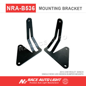 N2 AUTO RACE Trucks 30 inch Single Row LED Hidden Bumper Mounts for Offroad LED LIGHT BAR mounting brackets