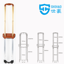 telescopic luggage trolley handle/trolley pull handle
