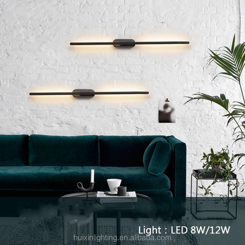 2019 new design modern interior rotatable surface decorative led wall light factory directly supply