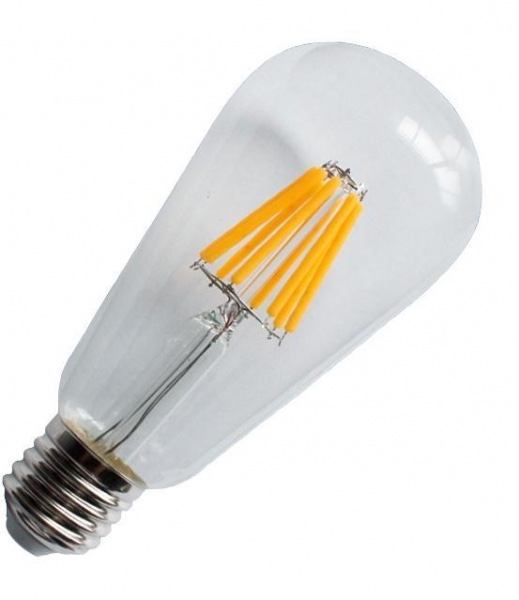 LED Filament bulb ST64 2W clear/frosted/golden