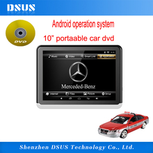Mini LCD loptop portable DVD player, super thin portable dvd player for car