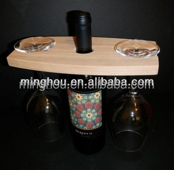Basic Wine & Wine Glass Rack Storage Glasses cup holder Modern Stand Type Table