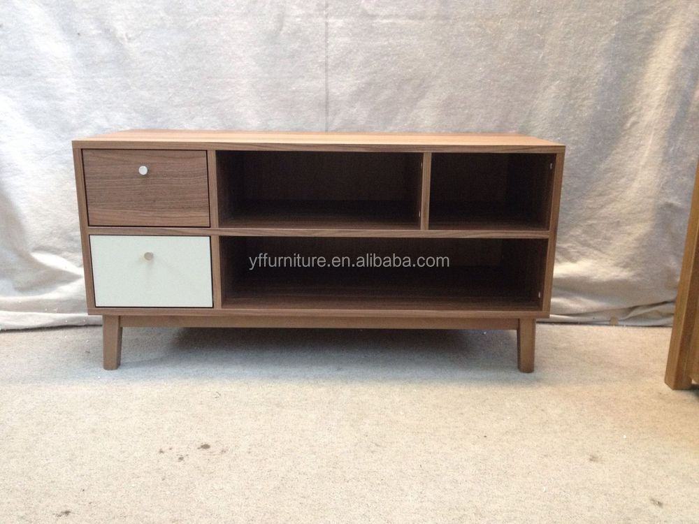 Plywood Tv Stand Designs : Simple design wooden furniture led lcd tv stand plywood