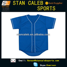 custom wholesale high quality Sublimated blank baseball jersey
