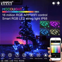Moodlight string lights outdoor LED Christmas lights, water proof outdoor string -20-60 degree