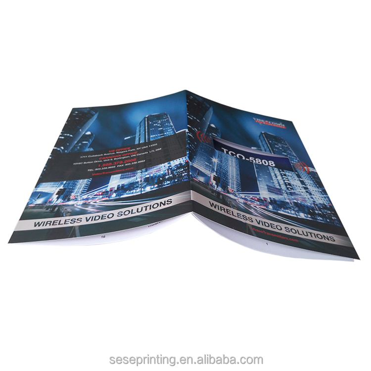 Guangzhou elegant and practical cheap Booklet/brochure/catalog printing