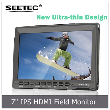 "3.5"" LCD monitor SDI HDMI input Pixel-to-Pixel high contrast 800:1 Electronic Viewfinder for HDSLR cameras"