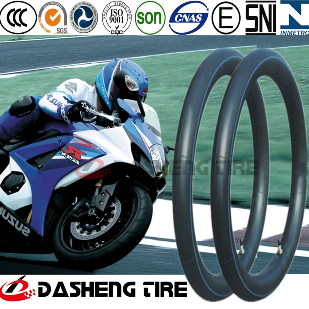 China Factory Butyl Tube for Motorcycle Tyre 3.25-16 for South America, Motorcycle Tyre Tube