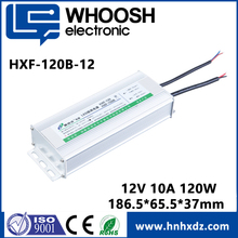 2018 selling china market waterproof 120W dc output 12V 10A power supply