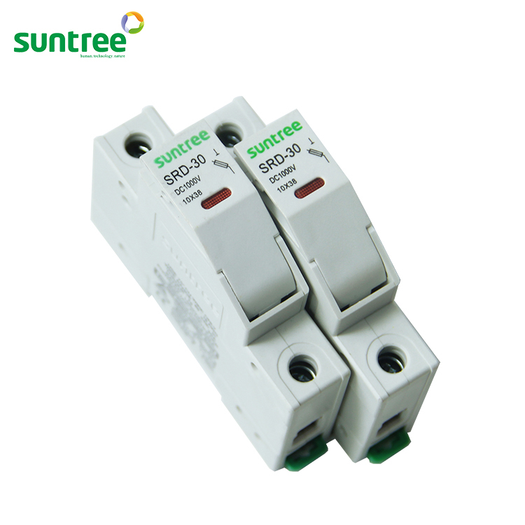 SRD-30 High Quality Solar PV 1000V 10A Thermal Fuse, 10 <strong>X</strong> 38mm Fuse Holder