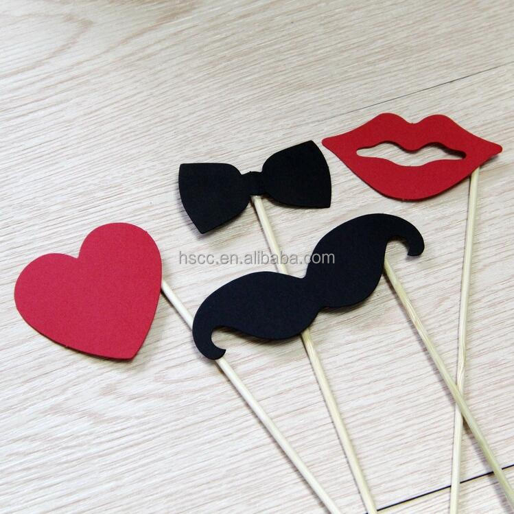 Photo Booth Props 10pcs DIY Hot Sale Wedding Props Birthday Party Favors