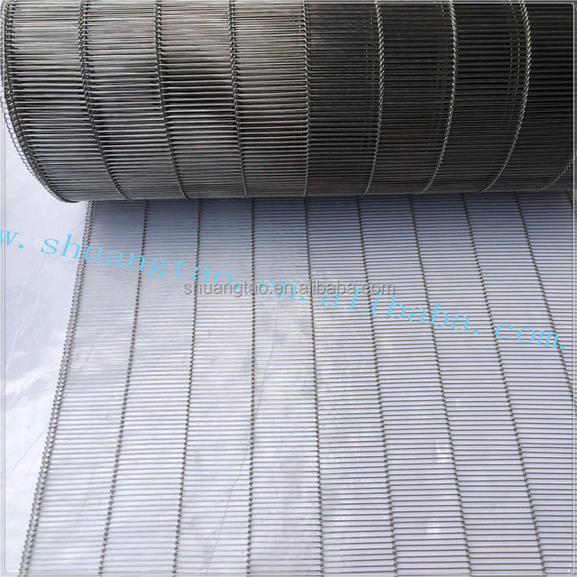 LFGB certification stainless steel conveyor wire belt wire weave mesh belt conveying belts wire mesh for food factory