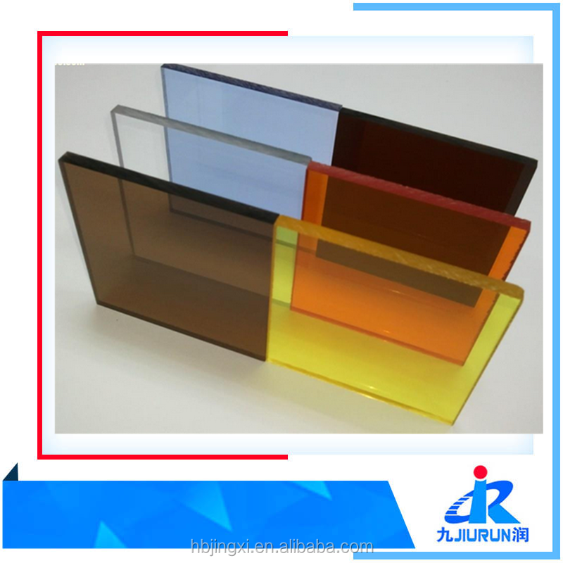 Colored or Transparent Clear Decorative Cast Acrylic Sheet
