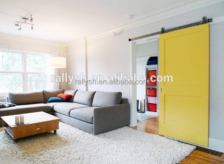 Sliding door hardware with wooden double door designs used for Sliding door for main door