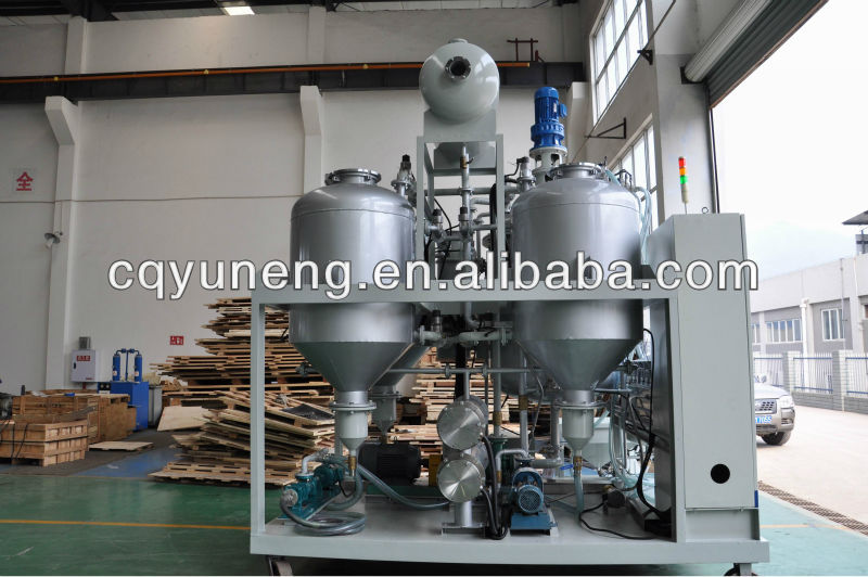 Vacuum Compressor Refrigeration Oil Purifier,Coolant Oil Recycling,Gear Oil Clean