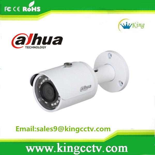 IP67 Dahua 1.3MP IP IR Mini-Bullet Network Camera Support POE Function: IPC-HFW1120S