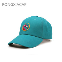 Wholesale OEM custom 6 panel high quality sport cap / hat leather strap