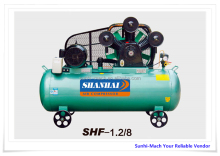 SUNRISE 8bar 10bar 12.5bar cylinder W V type ac piston belt driven air compressor