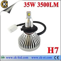2014 new design with cree chips led mini headlight for h7 led headlight bulb