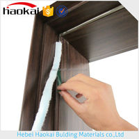 plastic weather strip for types of doors/windows